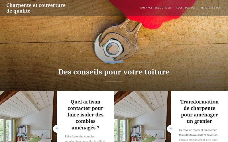Charpente et couverture de qualité - Des conseils pour votre toiture