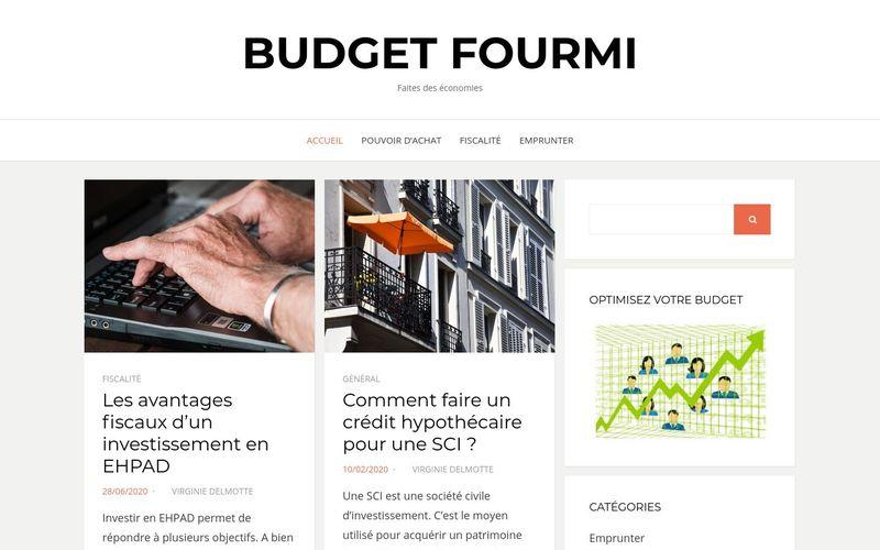budget fourmi - Faites des économies